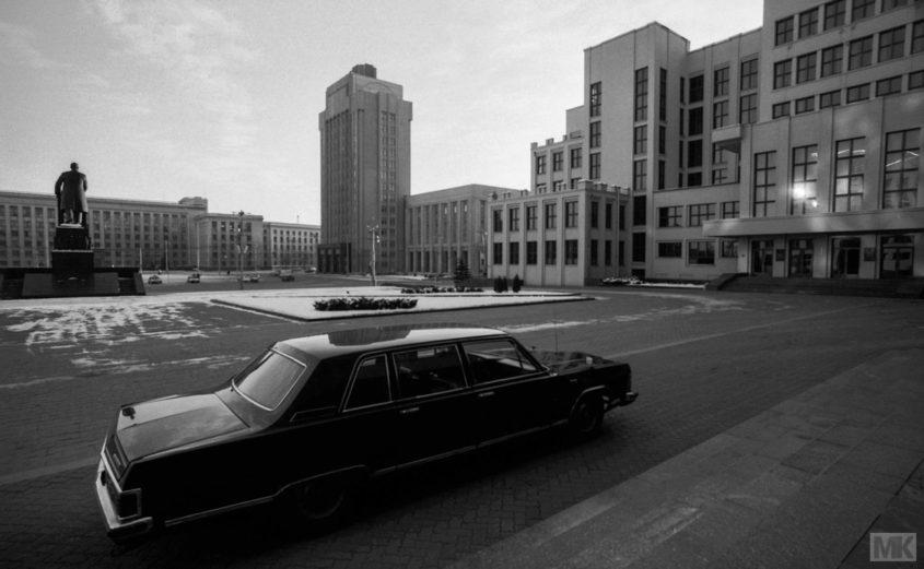 Minsk 1994: Es war Winter, aber dieser Ort lässt einen auch sonst frösteln.