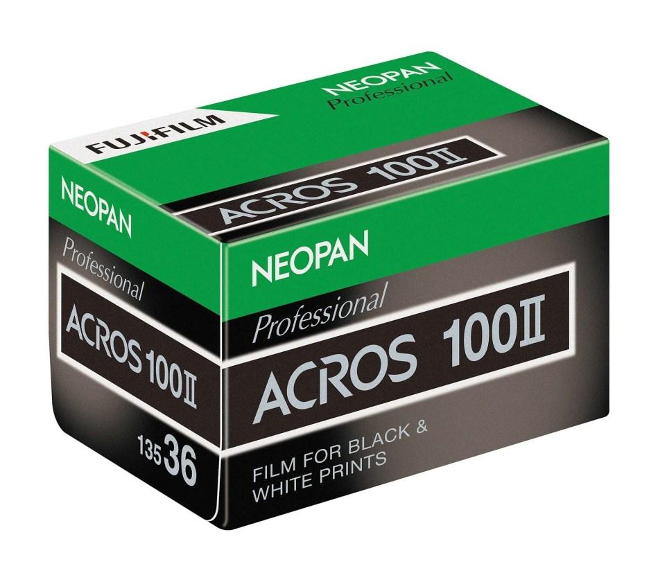 Der neue Acros 100 als KB konfektioniert.