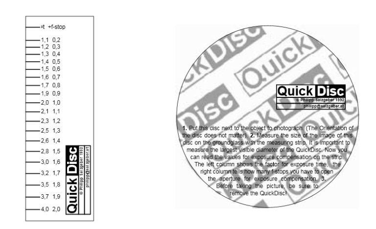Disk und Skala